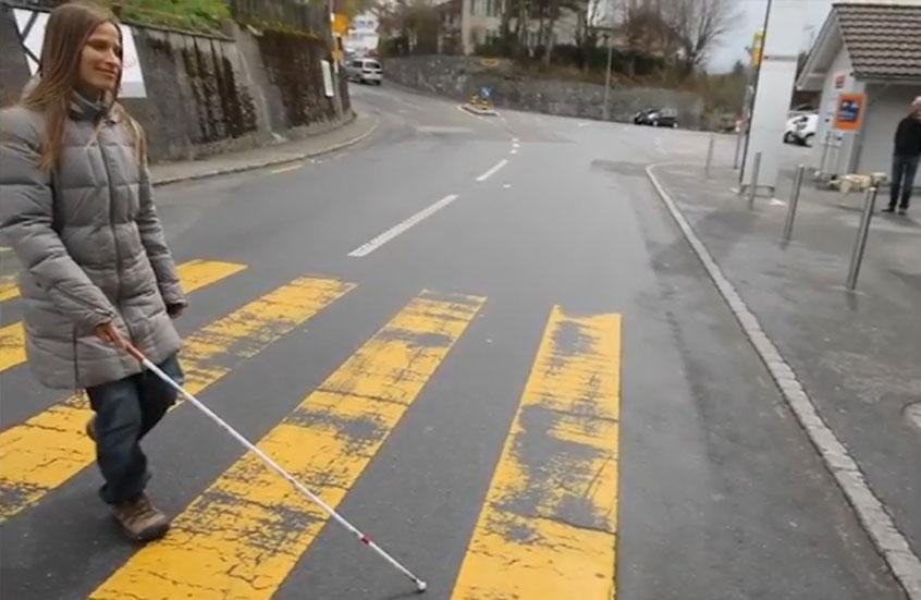 dürfen blinde auto fahren